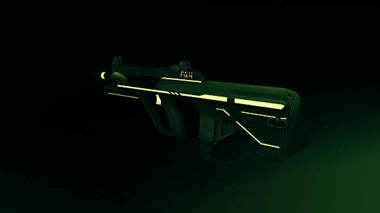 """AUG A3 9mm XS """"Неон"""" в Warface"""