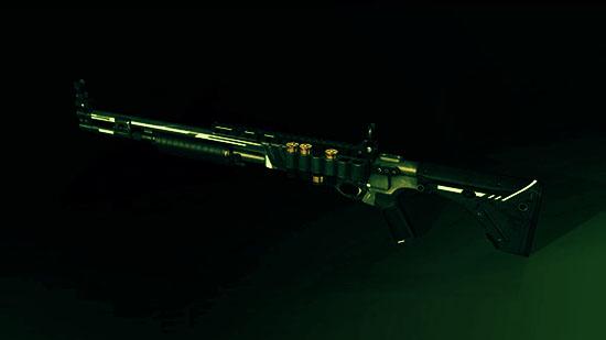 "Remington 870 CB ""Неон"" в Варфейс"